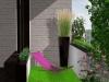 projekt ogrodu na balkonie - wizualizacje, newgreen.pl