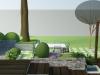 wielopoziomowy taras ogrodowy