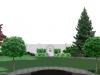 ogród przy rezydencji koncepcja 2, newgreen.pl