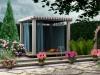 wizualizacja ogrodu w stylu śródziemnomorskim, newgreen.pl