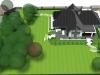 Ogród przydomowy - projekt, newgreen.pl