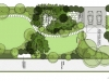 projekt ogrodu przy domu szeregowym, newgreen
