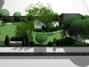 projekt ogrodu przy domu szeregowym, newgreen.pl