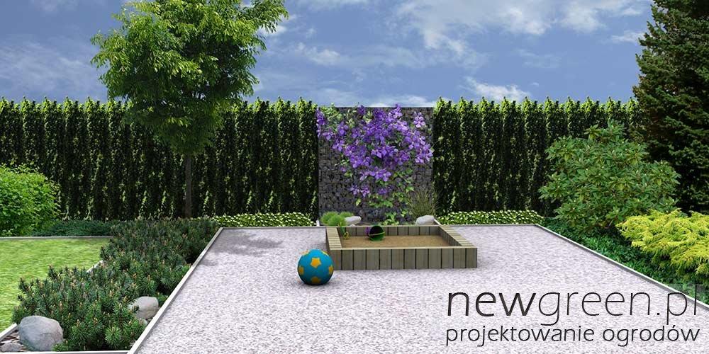 Projekt Ogrodu Przy Domu Jednorodzinnym Tarnów Newgreen