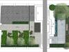 projekt małego ogrodu przy szeregowcu, newgreen.pl