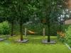 hamak ogrodowy w sadzie
