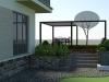 projekt rozbudowy tarasu przy domu jednorodzinnym
