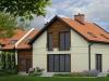 Wizualizacja domu jednorodzinnego z ogrodem