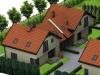 Wizualizacja budynku bliźniaka