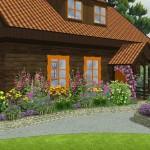 Ogród przy domu letniskowym, newgreen.pl
