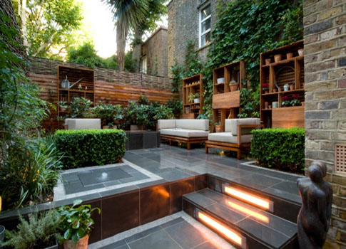 Style ogrodowe cz 6 ogr d nowoczesny newgreen for City garden designs