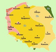 Strefy mrozoodporności w Polsce, newgreen.pl