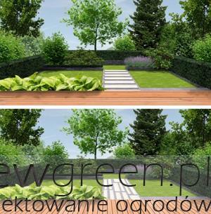 jak układać nawierzchnię w małym ogrodzie, newgreen.pl