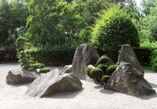 układ triadyczny w ogrodzie japońskim, newgreen.pl