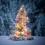 świąteczne dekoracje ogrodu
