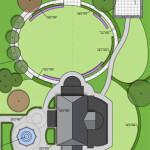 ogród rezydencjonalny plan