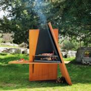 oryginalny grill na węgiel drzewny