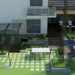 koncepcja rozbudowy tarasu
