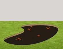 budowa rabaty żwirowej - KROK 2
