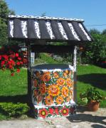 Zalipie malowana studnia, newgreen.pl