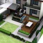 projekt-tarasu-przy-domu-szeregowym