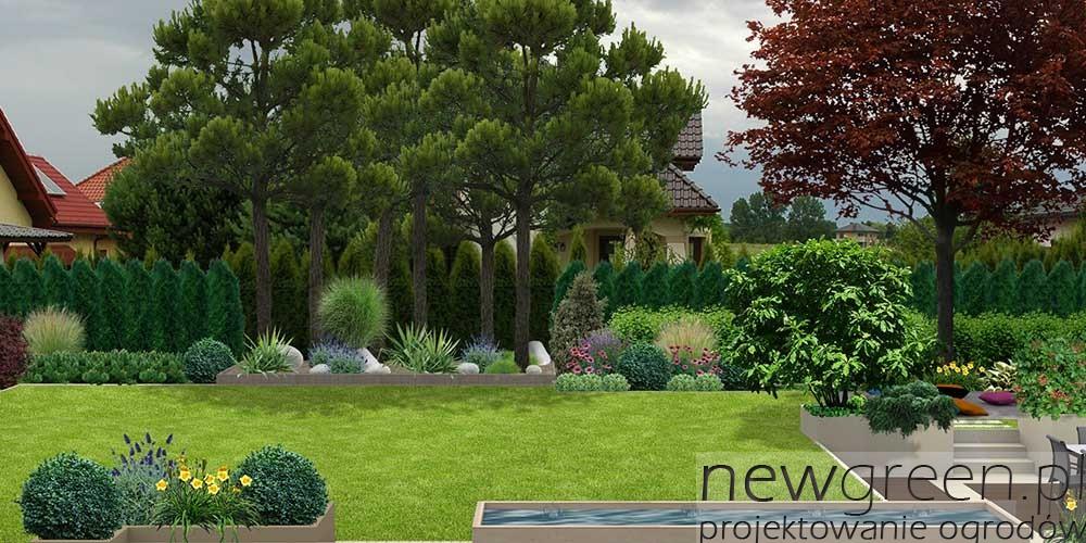 Ogrody Prywatne Newgreen Projektowanie Ogrodow Architektura