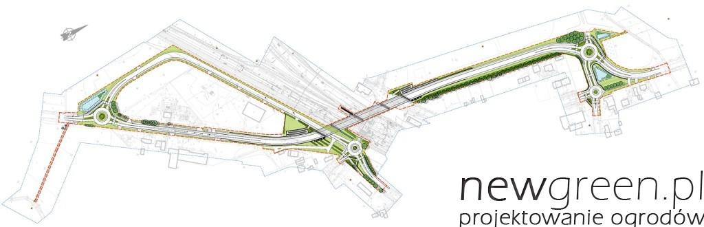 projekt zieleni przyulicznej, newgreen.pl